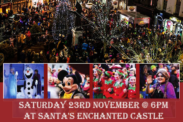 Enniscorthy Christmas Lights Switch On